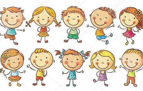 Výsledok vyhľadávania obrázkov pre dopyt kreslené deti | Happy cartoon,  Kids doodles, Cartoon kids