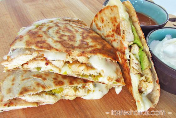 Low Carb Chicken Quesadilla