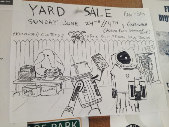 One Hoth of a Yard Sale
