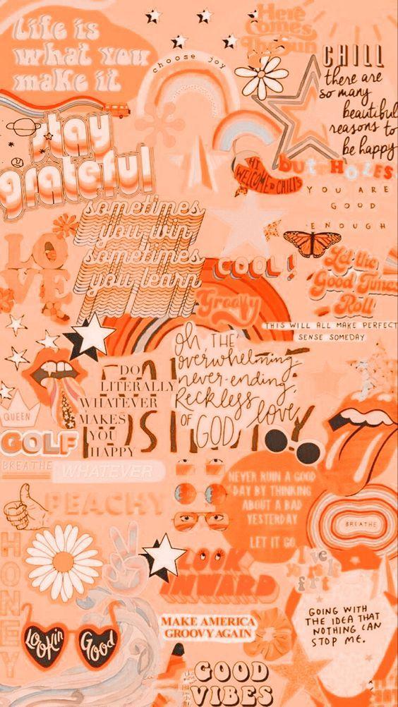 Cool Backgrounds Peach Wallpaper Orange Aesthetic Iphone Wallpaper Vintage
