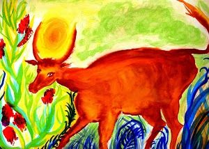 peintures et dessins de Natacha Randal