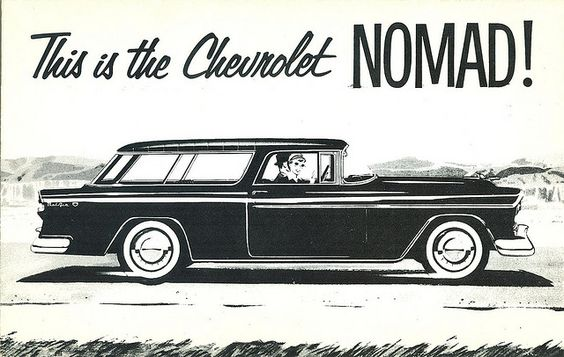 brochures and 1955 chevrolet on pinterest