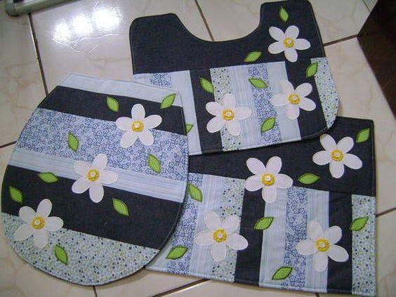 Patchwork Tapete Cozinha Passo A Passo : artesanato em tecido para banheiro passo a passo – Pesquisa Google