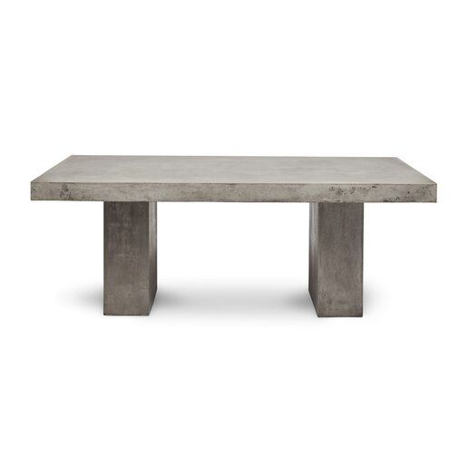 Clinchport Dining Table Reviews Allmodern Concrete Dining Table Dining Table Slab Dining Tables