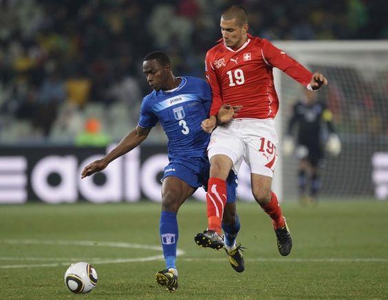 Na Quarta-feira, 25 de Junho de 2014 a seleção de Honduras enfrenta a seleção da Suíça em um dos Jogos da Copa do Mundo 2014 no Brasil. O jogo acontece na Arena da Amazônia, em Manaus - Amazonas às 17h (horário de Brasília) #copa2014