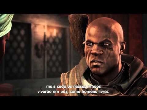 Assassin's Creed: Freedom Cry (Grito de Liberdade) uma DLC que mostra a luta dos escravos quilombolas no Haiti por liberdade.