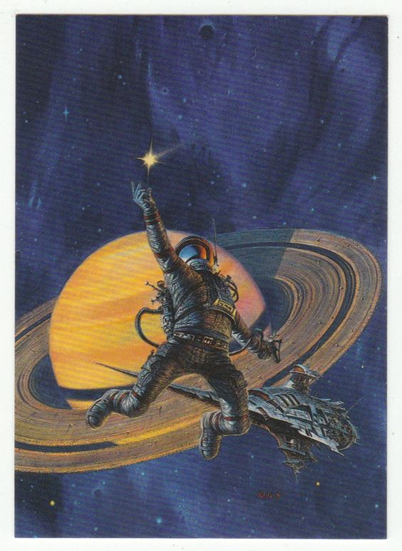 Darrell K. Sweet Cards # 60 Lost Object, Found - FPG - 1994