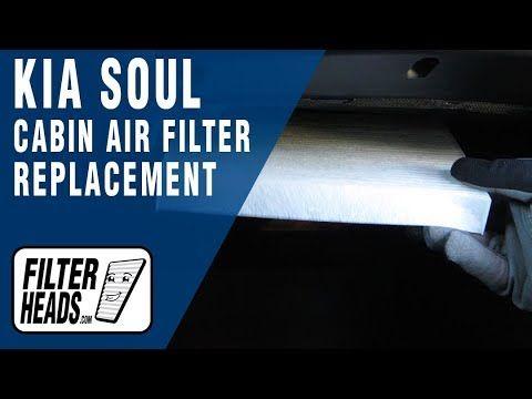 How To Replace Cabin Air Filter 2014 Kia Soul Kia Soul Cabin Air Filter Kia