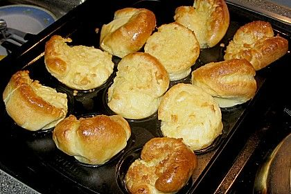 Yorkshire Pudding, ein schmackhaftes Rezept aus der Kategorie Beilage. Bewertungen: 19. Durchschnitt: Ø 3,8.