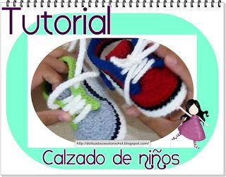 Delicadezas en crochet Gabriela: Tutorial : Zapatitos,escarpines ,calzado de niños