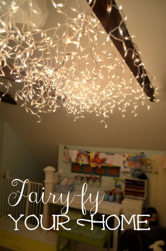 playrooms lights and fairies on pinterest