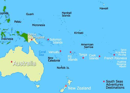 Location Of Fiji Islands | Fiji Islands Map, Fiji Map | Our World