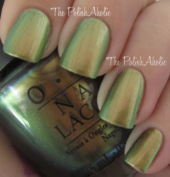 OPI The Amazing Spiderman Collection - Just Spotted the Lizard        Click the Read More button below for