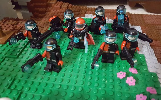 Bricks: WIP Battlefield, by Natalya