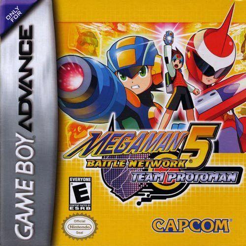 Mega Man Battle Network 5 Protoman Gameboy Advance Game Mega Man Nintendo Game Boy Advance Game Boy Advance