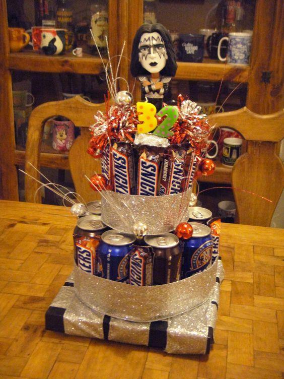 Lo hice para el cumpleaños de mi esposo, idea original sacada de Pinterest! Ideas Pinterest