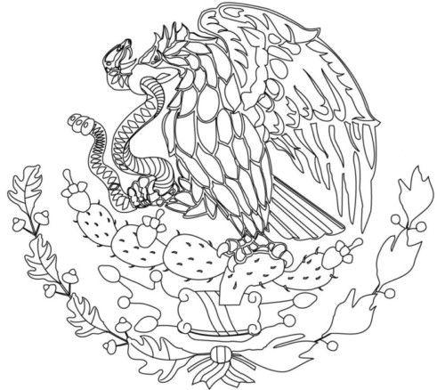 Imagenes Del Escudo De Mexico Bandera Dibujos Tatuajes Wallpapers Silhouette Wall Art Eagle Tattoo Art