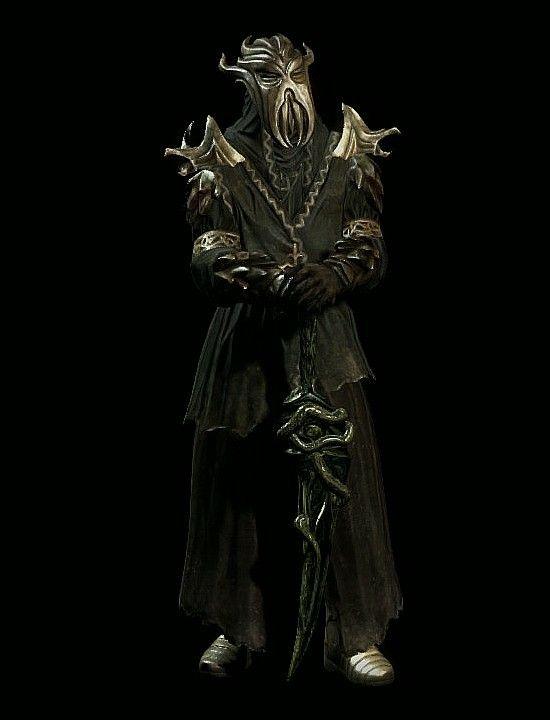 Miraak Dragon Priest Artist Inspiration Skyrim Dragonborn Dlc
