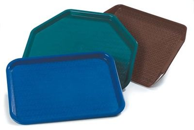 CARLISLE: Cafe Trays. Economical, lightweight trays in your choice of 3 styles!