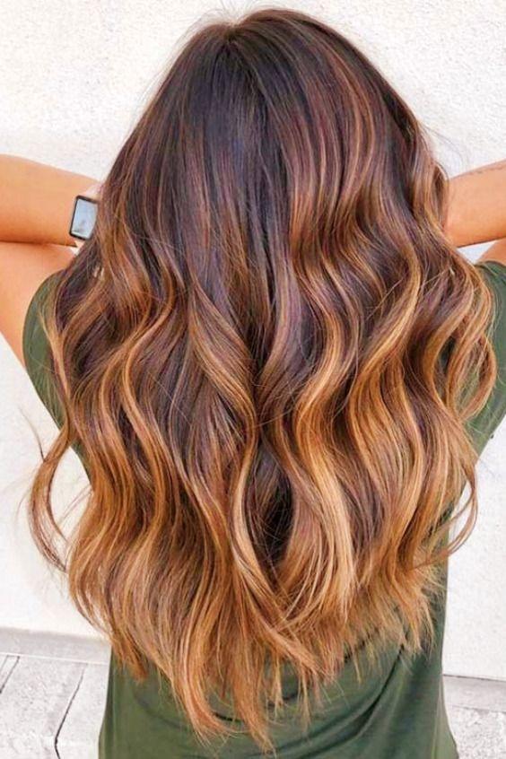 Vous Voulez Voir Les Coiffures De Balayage Populaires Coiffure Balayage Longueur De Cheveux Couleur Cheveux