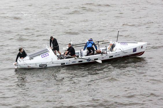RoughReadyRow leaving London to row around Britain........!
