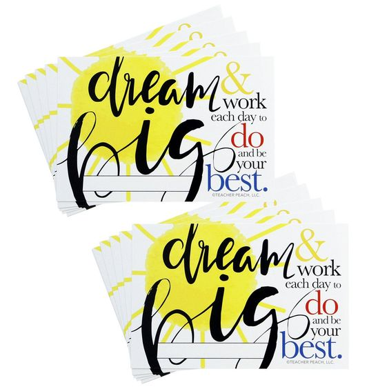 Positive Postcards: Dream Big