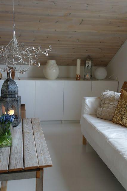 Great use of angled roof | wohnträume | Pinterest | Wände und Bohème