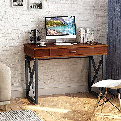 Tribesigns Lift Top Computer Desk Height Adjustable Standing Desk Stand Up Desk Computer Workstation With Storage Drawers For Home Office Wall S Furniture Adjustable Standing Desk Adjustable Height Standing