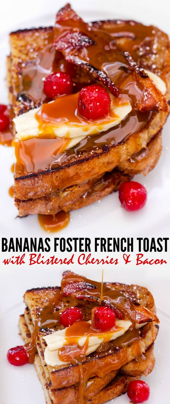 Bananas Foster French Toast | Recipe | Bananas Foster French Toast ...