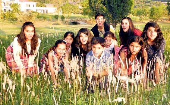 A scene of Bollywood Movie 'Nanhe Farishtey'.
