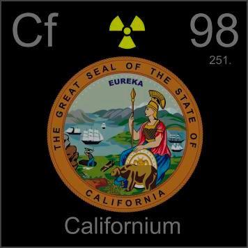 98 - Californium ☠☢☣☠