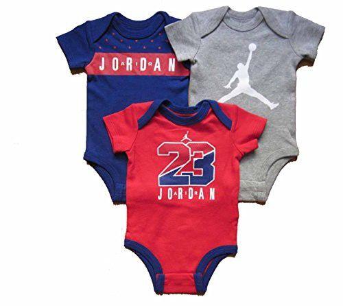 Nike Baby Jordan Jumpman Bodysuit Set 5 Pack