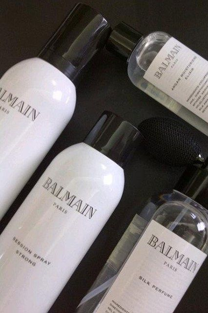 Balmain Hair Styling Line At BeautyMart London (Vogue.com UK) Europeans are meticulous about their skin and hair.: