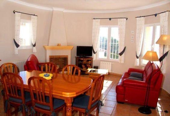 Chalet independiente de vacaciones para alquilar en Moraira   22688