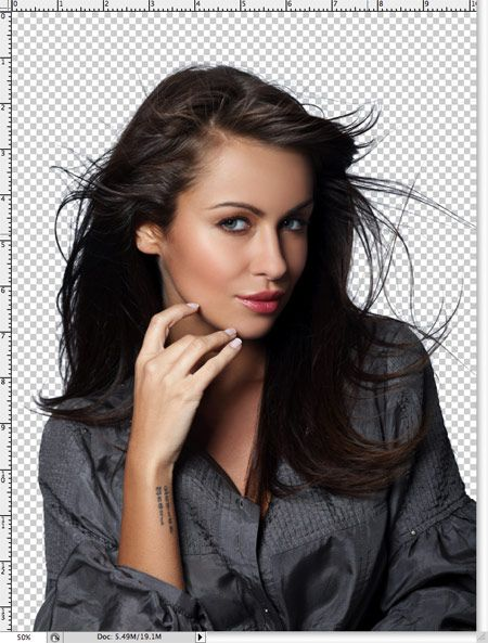 Cutting hair out of the background is one of the hardest things to do in Photoshop.