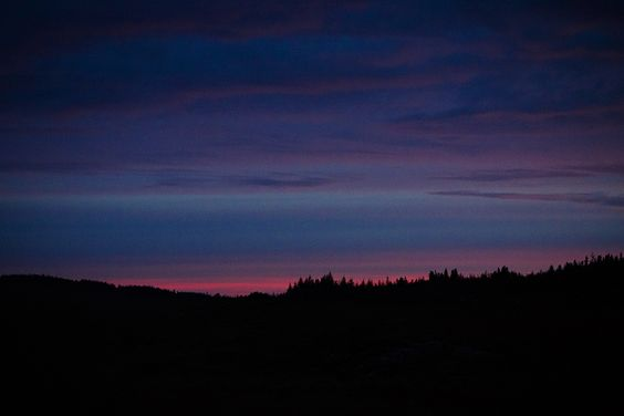 Last light from the R344, County Galway, Iealnd