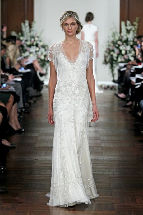1920's inspired wedding dresses | ... inspired gown by Jenny Packham. 1920s inspired gown by Jenny Packham