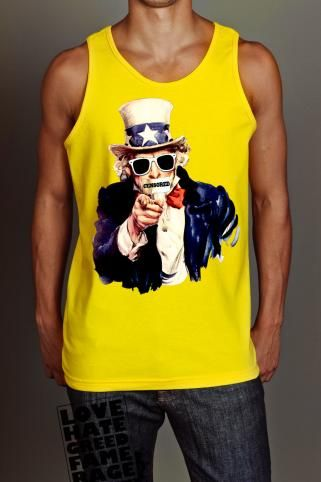SIDEPIECE UNCLE SCAM TANK
