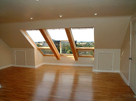 Loft conversion before and after pictures the home for Loft addition cost