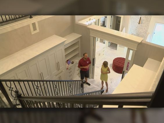 Lubbock Builder Shows Off 2 Story Closet At Annual Parade Of Hom   KCBD  NewsChannel 11 Lubbock | NEW Dream House | Pinterest | House