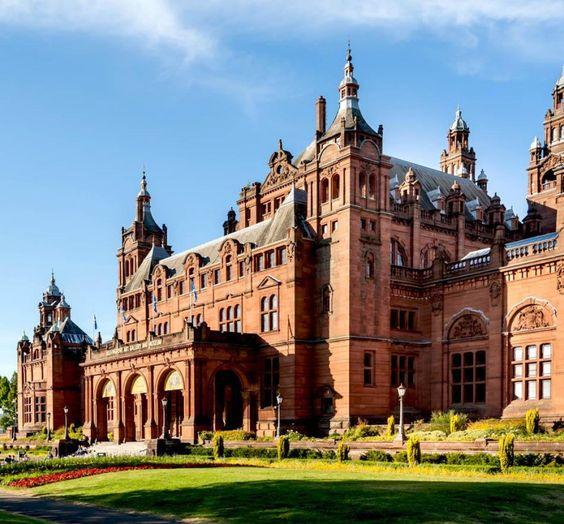 Kelvingrove Art Gallery and Museum in Glasgow: