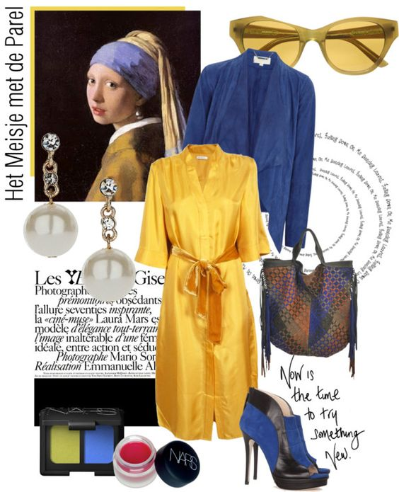 """""""Girl With The Pearl Earring"""" by sophisty ❤ liked on Polyvore"""