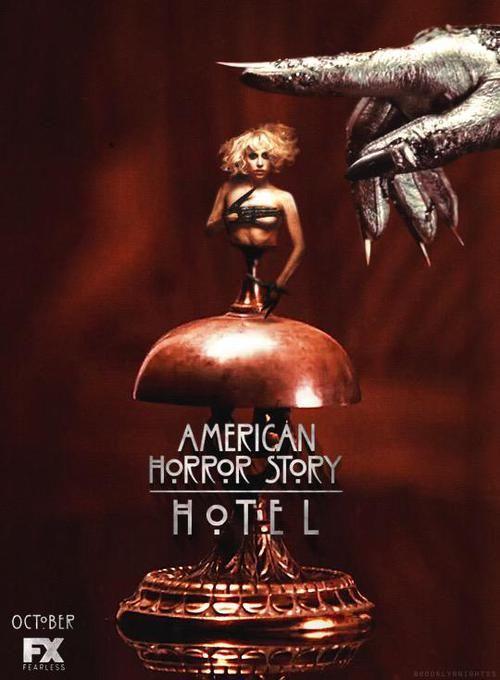 Resultado de imagen de american horror story poster hotel
