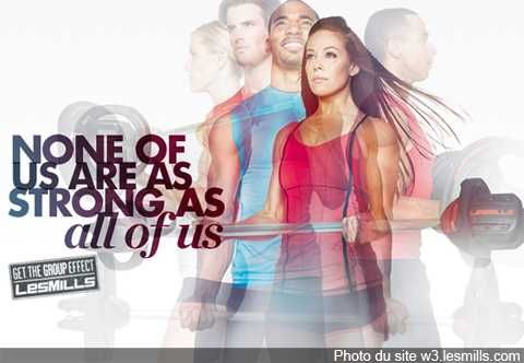 Les Mills group fitness