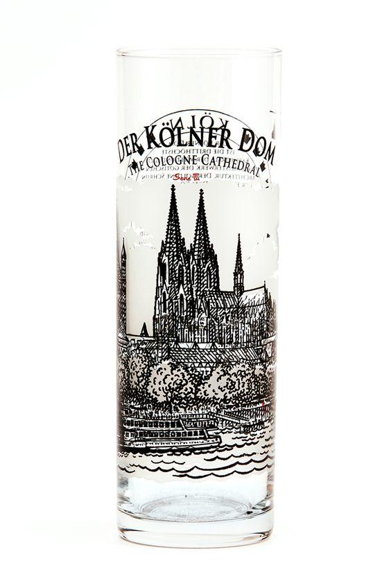 Kölschglas 'Der Kölner Dom'