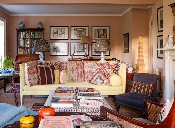 the best pink paint colors vogue s favorite interior. Black Bedroom Furniture Sets. Home Design Ideas