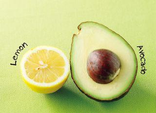 きれいを作る組み合わせ アボカドレモンのダイエットパワー