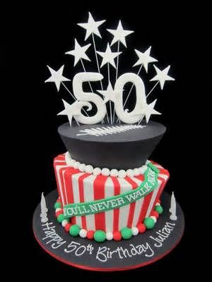 Cake ideas, 50th birthday cakes and Birthday cakes on Pinterest