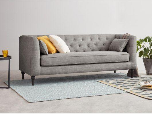 Flynn 3 Sitzer Sofa Grau Sofa Design 3 Sitzer Sofa Mobeldesign