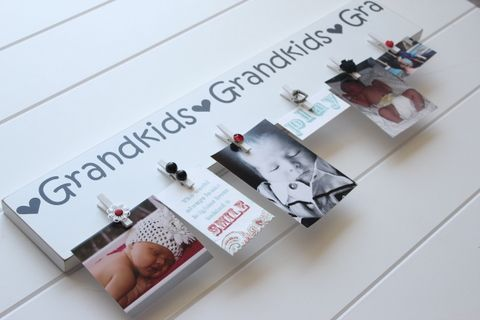 Another take on the grandparent picture board, DIY